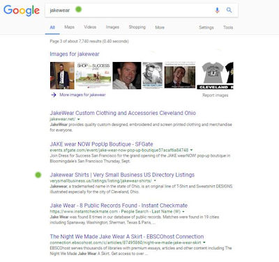 jakewear very small business search results